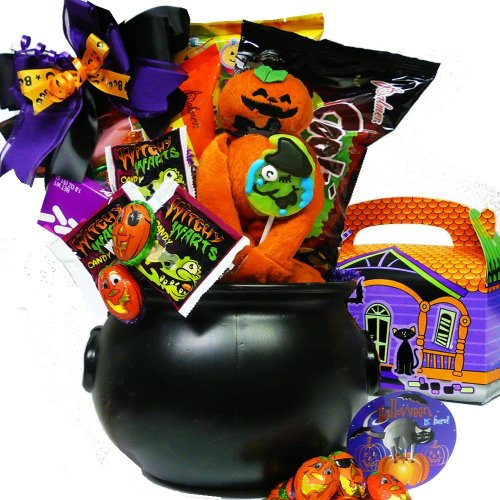 Art of Appreciation Gift Baskets Cookies and Screams Halloween Chocolate and Candy Basket