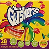 Betty Crocker Fruit Gushers, Strawberry Splash and Tropical, 28 Count