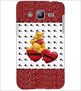 PrintDhaba Sweet Heart D-1286 Back Case Cover for SAMSUNG GALAXY J2 (Multi-Coloured)