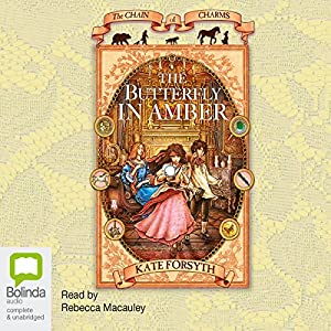 The Butterfly in Amber Audiobook