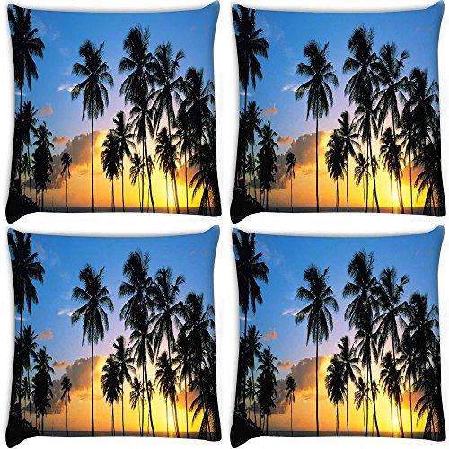 snoogg-noci-di-cocco-alberi-confezione-da-4-digitale-cuscino-stampato-cuscini-508-x-508-cm