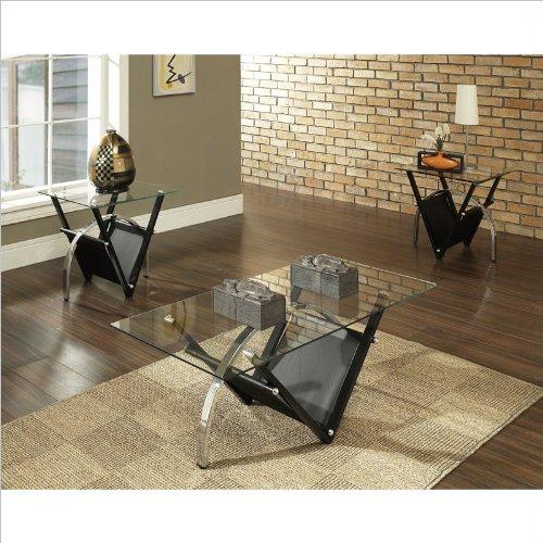 Steve Silver Tribecca 3 Piece Coffee Table Set
