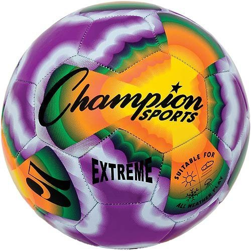 Champion Sports Extreme Tie Dye Size 3 Composite Soccer Ball