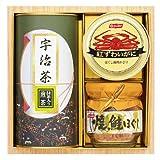 和彩撰 宇治茶・かに缶・鮭瓶詰合せ UYK-30S