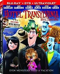Hotel Transylvania (Bilingual) [Blu-ray + DVD + UltraViolet]