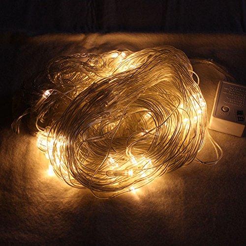 Hengda led lichternetz weihnachtsbeleuchtung warmwei f r for Weihnachtslichterketten innen
