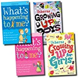 What's Happening to me Growing up for Boys and Girls Collection 4 Books Set, (What's Happening to Me?: Boy, What's Happening to Me? (Girls Edition) (Facts of Life), Growing Up for Boys, and Growing Up for Girls) Felicity Brooks