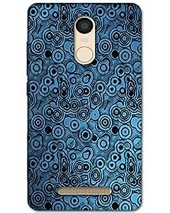 MobileGabbar Xiaomi Redmi Note 3 Back Cover Plastic Hard Case