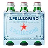 San Pellegrino Sparkling Natural Mineral Water (6x250ml)
