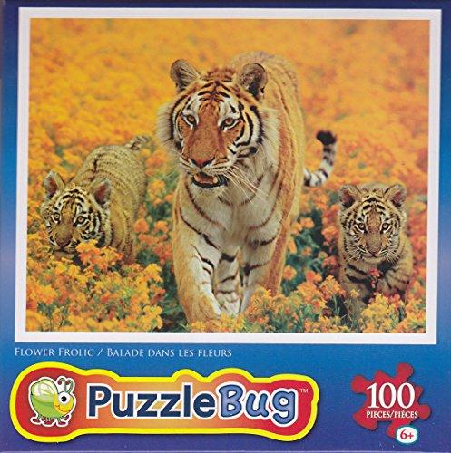 Puzzlebug 100 Piece Puzzle ~ Flower Frolic - 1