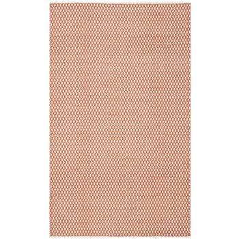 Safavieh Boston Collection BOS685C Handmade Orange Cotton Area Rug (5 x 8)