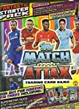 2014/2015 Topps Match Attax Premier League Soccer Factory Sealed STARTER Kit with Hard Back Collectors Binder Album,Game ready play pitch,Game Guide, Cards and EXCLUSIVE Limited Card!