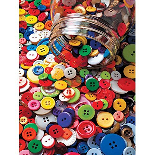 Colorluxe 500 Piece Puzzle - Lots O' Buttons - 1