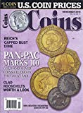 img - for Coins Magazine (November 2015) book / textbook / text book