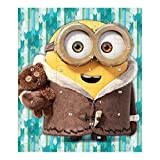 Calendrier de l'Avent Minions Advent Calendar 65g - Minions - contient 24 Chocolat au lait avec activite dans l'arriere du packet