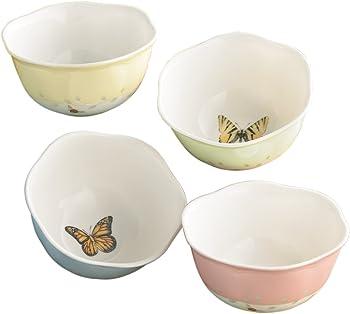 Lenox Butterfly 4-Set 8-Oz. Dessert Bowls