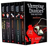 L. J. SMITH L J SMith's Vampire Diaries Books 1 to 7 Volimes (5 Books) Collection Set Pack (The Return: Midnight, The Fury: AND The Reunion, Nightfall, Shadow Souls, The Awakening: AND The Struggle)