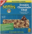 Annie's Chewy Gluten Free Granola Bars, Double Chocolate Chip, 0.98 oz Bars, 5 Count
