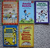 img - for Amelia Bedelia Set of 5 Books (Amelia Bedelia ~ Good Work, Amelia Bedelia ~ Thank You, Amelia Bedelia ~ Good Driving, Amelia Bedelia ~ Teach Us, Amelia Bedelia) book / textbook / text book