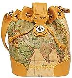 あなただけの世界地図柄 ショルダーバッグ [ ORBE VOYAGE 6111 ] 誕生日プレゼント レディースバッグ
