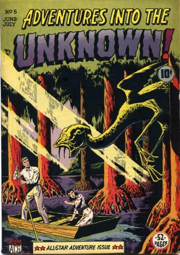 Adventures into the Unknown - 5 cover