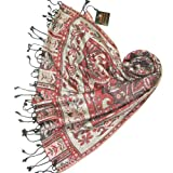 Paisley Jamawar Shawl for Women - No other pashmina comes close - LOVARZI