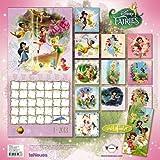 2013 Disney Tinkerbell Fairies Grid Calendar