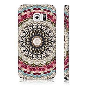 Samsung Galaxy S6 Mandala Color Pattern Printed Designer Mobile Phone Case Back Cover by Be Awara - Matte Finish