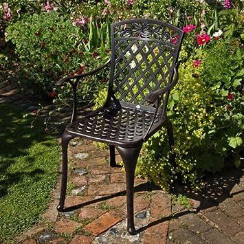 Ensemble meubles de jardin - Table ronde Rosie 150cm table ...