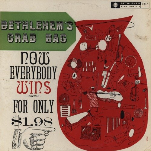 Bethlehem's Grab-Bag by Duke Ellington's Orchestra, Mel Torme & Frances Faye-duet, Claude Williamson's Trio, Sal Salvador's Quartet and Australian Jazz Quintet