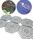 Good Ideas 1135 Filet de protection pour bassin aquatique Protège des hérons, chats et autres prédateurs