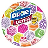 Dixie Ultra Paper Bowls, 20 Oz., 80 Ct.
