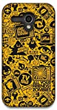 The Racoon Lean Retro Skeptic hard plastic printed back case / cover for Moto G (1st Gen)
