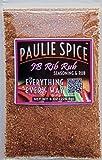 Paulie Spice : Sweet & Smoky BBQ Rib Rub and Seasoning : Amazing on Ribs, Chicken and Pork : 8 oz