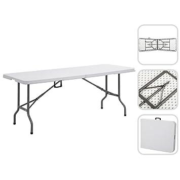Nouvelle table pliante camping Pique-nique Parti Extérieur Jardin 6ft pliable tables buffet