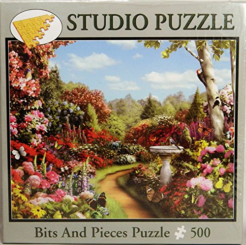 Bits and Pieces Alan Giana Butterfly Garden Jigsaw Puzzle 500 pc