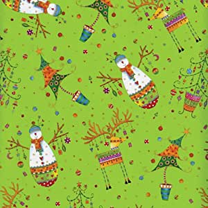 Entertaining with Caspari Continuous Gift Wrapping Paper, Sparkles and Twinkles, 8-Feet, 1-Roll