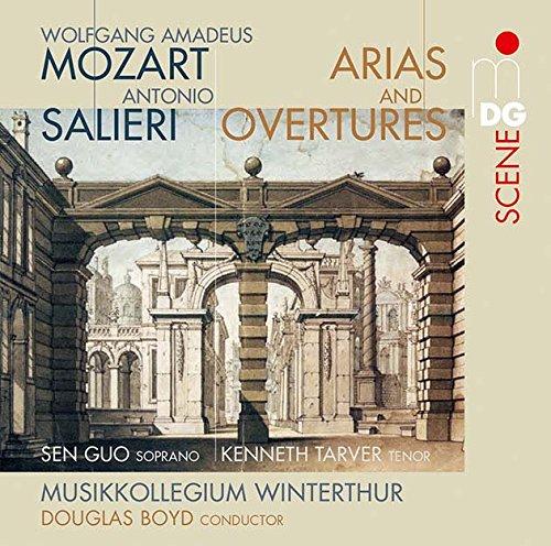 SACD : MOZART / SALIERI / MUSIKKOLLEGIUM WINTERTHUR - Overtures & Arias (2 Discos)