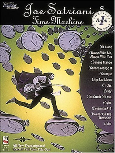 Joe Satriani: Time Machine, Book 1 by Joe Satriani (1994-01-02)
