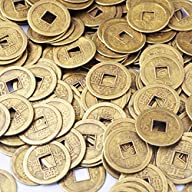 50pcs Feng Shui I-ching Coins Fortune…