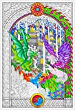 The Key - Giant Coloring Poster (32½ x 22 Inches)