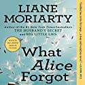 What Alice Forgot Audiobook by Liane Moriarty Narrated by Tamara Lovatt-Smith