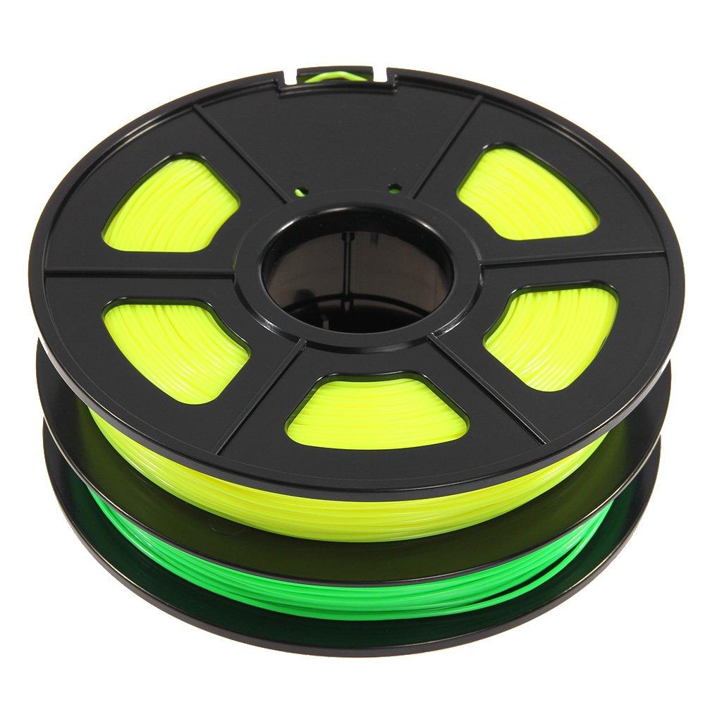 Sunlu ABS Filament gelb-gruen