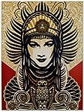 D8184 Shepard Fairey Peace Goddess Art 32x24 Print POSTER