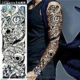 Temporäre Körperkunst Entfernbare Tattoo Aufkleber Ärmel - AC-021 Sticker Tattoo