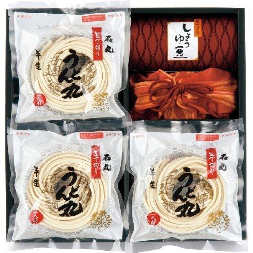 石丸製麺 半生讃岐うどん包丁切り「うどん丸」8人前