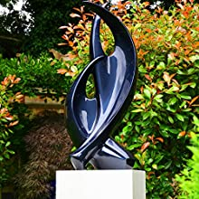 Large Garden Sculptures - Modern Tranquility Abstract Statue