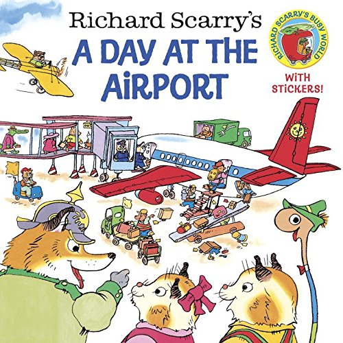 Richard-Scarrys-A-Day-at-the-Airport-PicturebackR