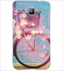 PrintDhaba Tyre Design D-3250 Back Case Cover for SAMSUNG GALAXY J2 (Multi-Coloured)