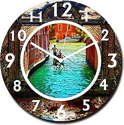 2 O Clock Decorative Printed Analog Wall Clock